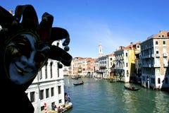 Venice Carnival, world famous island - Italy Stock Image