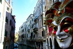 Venice Carnival, world famous island - Italy Stock Photo