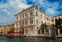 Venice Casino on Canal Grande Royalty Free Stock Image