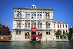Venice Casino. On Grand Canal,Venice,Italy.Inaugurated in 1638, Casino di Venezia is the worlds oldest gaming house and its charm has remained unaltered over Royalty Free Stock Image