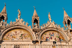 Venice. Cathedral of Sacred Mark Stock Images