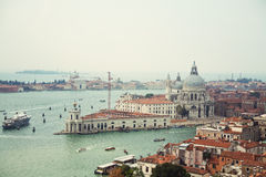 Venice   Cathedral of Santa Maria della Salute Royalty Free Stock Photography