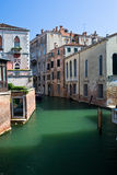 Venice channel in the summer Royalty Free Stock Image