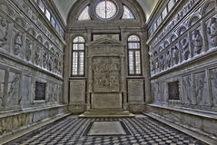 Venice - Chapel Badoer-Giustinian or dei profeti - prophets in church San Francesco della Vigna Royalty Free Stock Photography