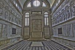 Venice - Chapel Badoer-Giustinian or dei profeti - prophets in church San Francesco della Vigna. VENICE, ITALY - MARCH 14, 2014: Chapel Badoer-Giustinian or dei Royalty Free Stock Photography