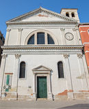 Venice - Chiesa di San Francesco di Paola church Royalty Free Stock Images