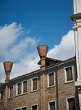 Venice chimneys Stock Photos
