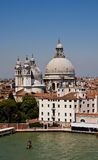 Venice Church Domes Stock Image