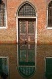 Venice church entrance. Church entrance in Venice, Italy Stock Photos