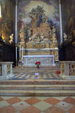 Venice church interior Royalty Free Stock Image