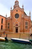VENICE - Church of Madonna dell'orto Stock Photography