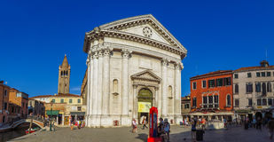 Venice - Church San Barnaba Royalty Free Stock Photo