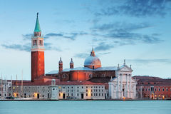 Venice - Church of San Giorgio Maggiore Stock Photography