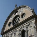 Venice, church of Santa Maria dei Miracoli royalty free stock images