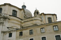 Venice. Church of St. Jeremiah Stock Photo