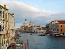 Venice city channel view, Italy Stock Photos