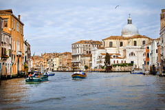 Venice city early morning. The city is wake up Royalty Free Stock Photos