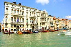 Venice city landscape with the canals  , Italy Royalty Free Stock Photography