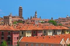 Venice City Italy. In sunny day royalty free stock photos