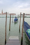 Venice, city landscape. Morning Stock Image