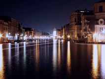 Venice. Is a city in northeastern Italy.  at night Stock Images