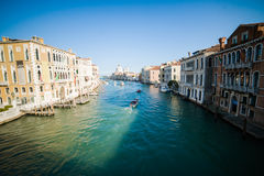 Venice - is a city in northeastern Italy sited on a group of many small islands separated by canals Royalty Free Stock Images