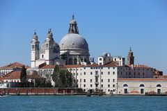 Venice. Is a city in northeastern Italy sited on a group of 117 small islands separated by canals and linked by bridges. It is located in the marshy Venetian Royalty Free Stock Photography