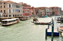 Venice city seen from Ponte Rialto , Italy Stock Image