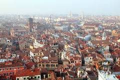 Venice city view from above Stock Images