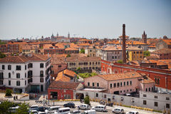 Venice cityscape from above Royalty Free Stock Photos