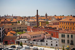 Venice cityscape from above Stock Photo