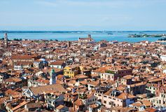 Venice cityscape from Campanile di San Marco Royalty Free Stock Image