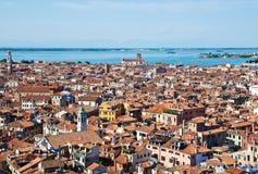 Venice cityscape from Campanile di San Marco Royalty Free Stock Image