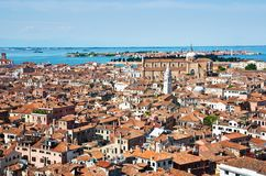 Venice Cityscape From Campanile Di San Marco Royalty Free Stock Photography