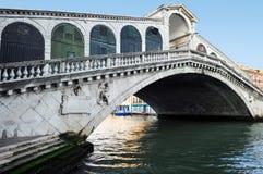 Venice Cityscape - Rialto Bridge Royalty Free Stock Photos