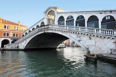 Venice Cityscape - Rialto Bridge Stock Photography
