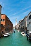 Venice  cityscape, San Giorgio dei Greci Stock Photography