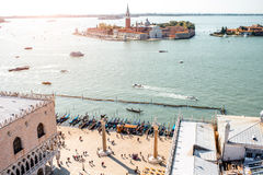 Venice cityscape view Royalty Free Stock Images