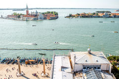 Venice cityscape view Royalty Free Stock Image