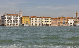 Venice cityscape, view fron lagoon. Italy. Royalty Free Stock Photos