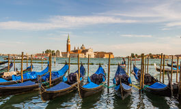 Venice cityscape, water canals and traditional buildings. Italy, Europe Royalty Free Stock Photo