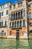 Venice cityscape, water canals and traditional buildings. Italy, Europe Royalty Free Stock Image