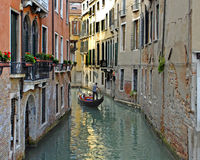 Venice Classic. An image of a classic scene representative of Venice and its tourism industry, Italy Royalty Free Stock Images