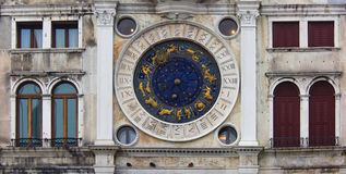Venice, clock tower, particularly Royalty Free Stock Image