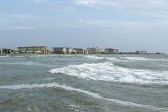 Venice Coastline. Coast line of Venice Florida Stock Image