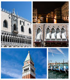 Venice Collage royalty free stock images