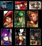Venice Collage Stock Photos