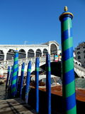 Venice Columns Stock Photography