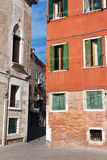 Venice corner. One of the Venice corner. So close and so hidden from typical tourist Royalty Free Stock Image