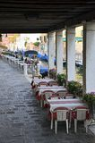 Venice covered terrace Royalty Free Stock Photo